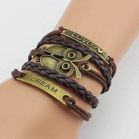 Special Leather Fashion Bracelets