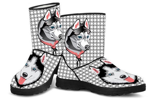 Loyal Husky Faux Fur Boots
