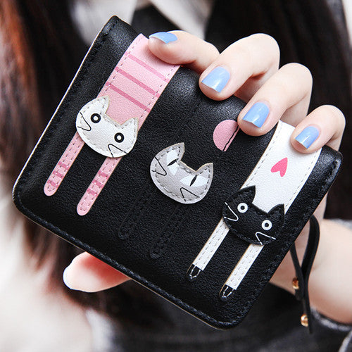 Feline Friends Mini Wallet