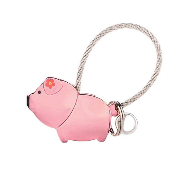 Pig Couple Keychain