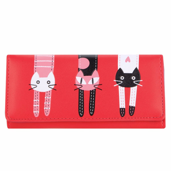 Candy Color Cat Wallet