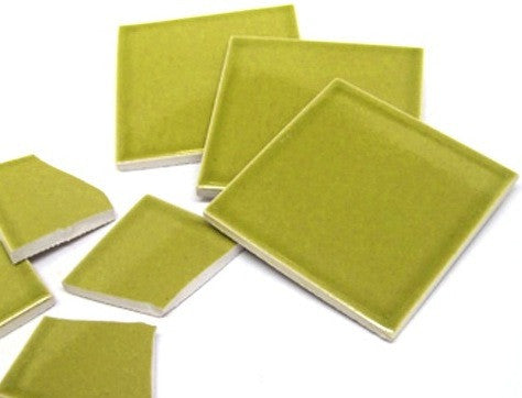 "McIntyre Tile - Chartreuse  6"" x 6"""