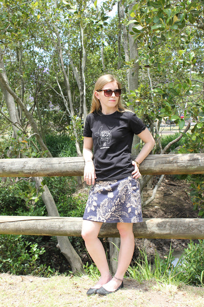 Flatback Turtle Tee - Ladies