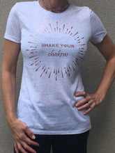 Shake Your Chakras - Short Sleeves T - Cool Grey/Rose Gold