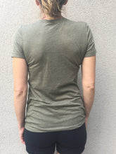 Sun In My Soul - Short Sleeves T - Military Green/Gold