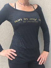Sun In My Soul - Long Sleeves - Black/Gold