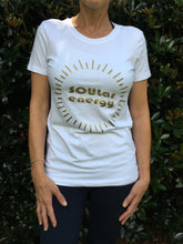 Soular Energy - Short Sleeves T - Cool Grey/Gold