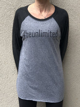#beunlimited - Baseball T Grey/Black- Unisex