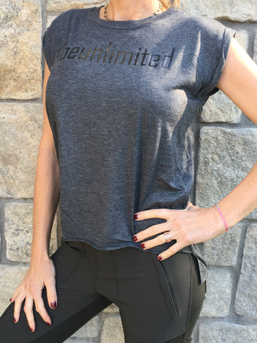 #beunlimited - Short Sleeve T - Grey/Black