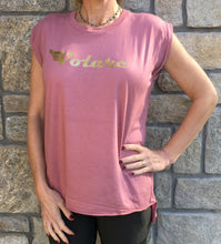 Volare - Short Sleeves T - Mauve/Gold