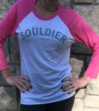 Souldier - Baseball Shirt - Pink/Grey