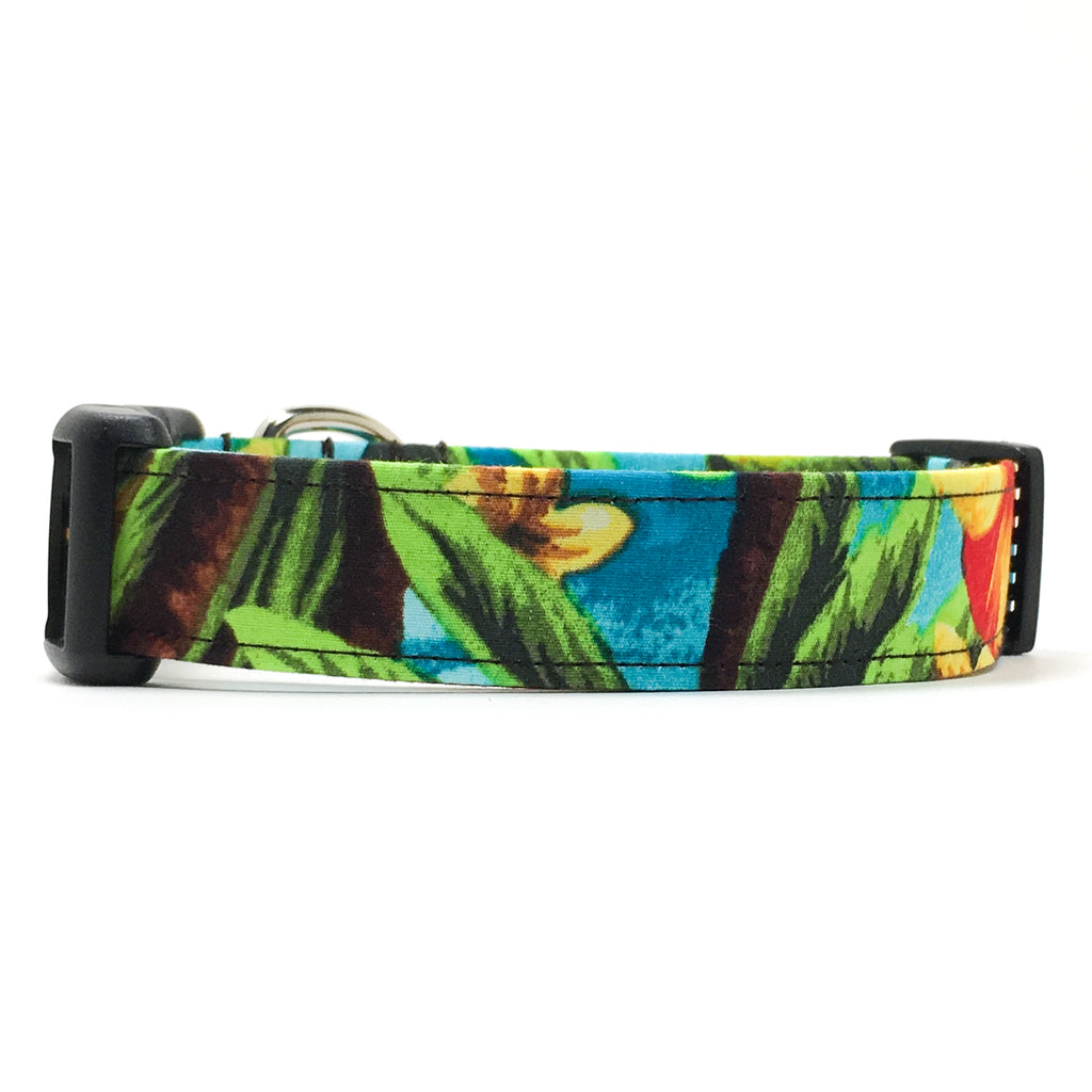 Hawaiian Shirt Dog Collar