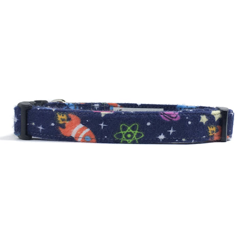 Spaceships Dog Collar