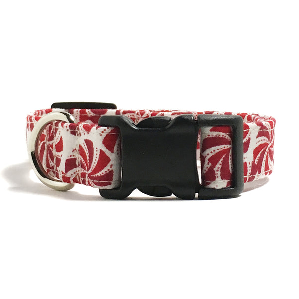 Peppermint Candy Dog Collar