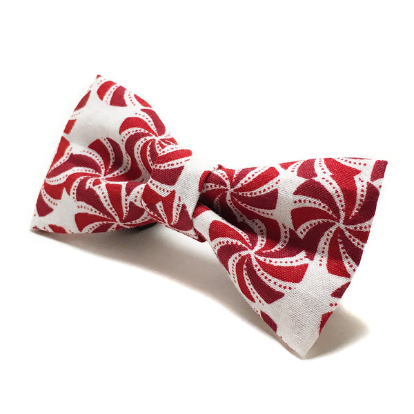 Peppermint Candy Dog Bow Tie