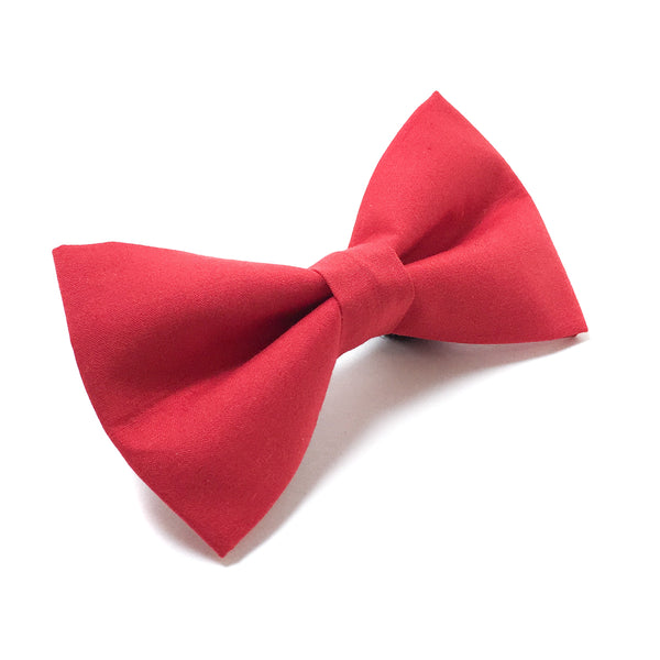 Red Dog Dog Bow Tie