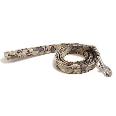 Sock Monkey Dog Leash