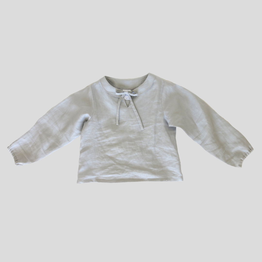 Lunar Blouse - Light Grey