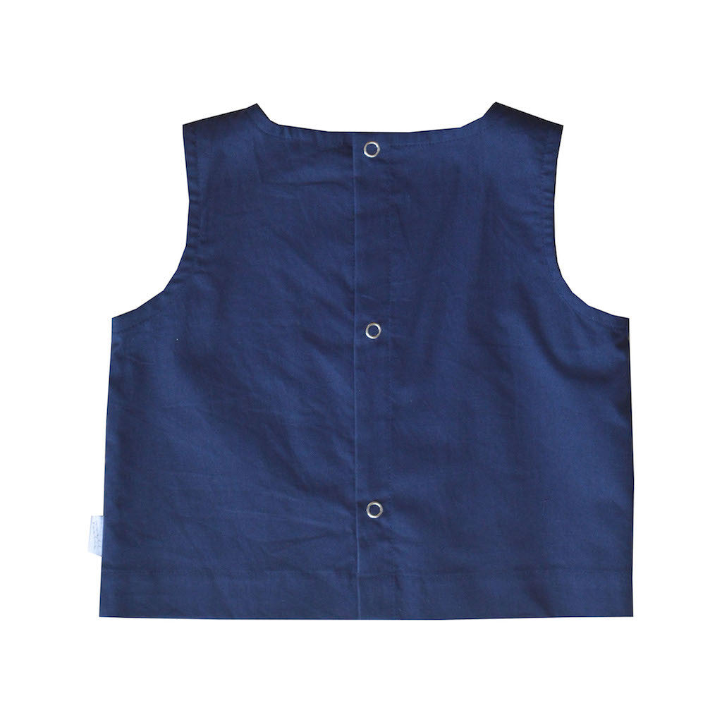 Pebble Top - Navy