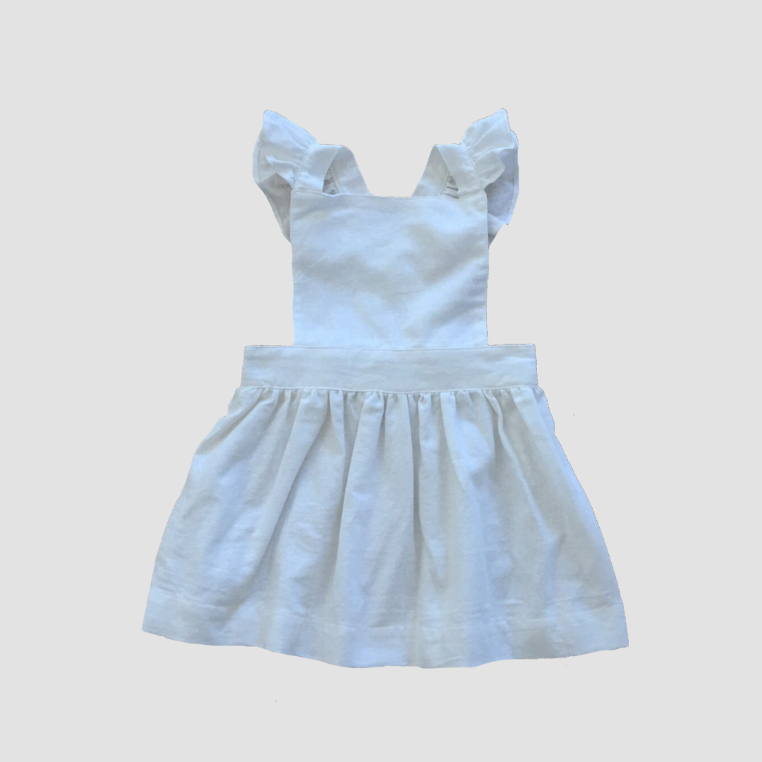 Periwinkle Pinafore - Milk