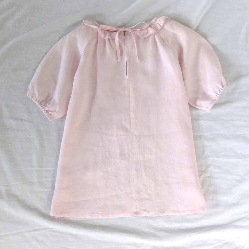 Sandpiper Smock Dress - Blush