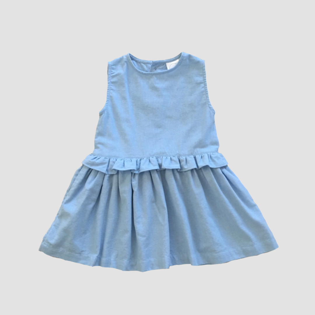 Seaspray Dress - Sky