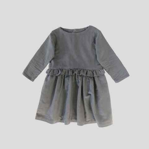 Seaspray Dress - Charcoal