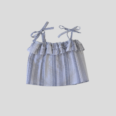 Periscope Cami Top - Blue Stripe