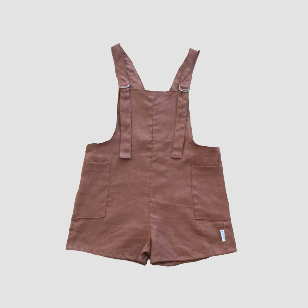 Voyager Shortalls - Walnut