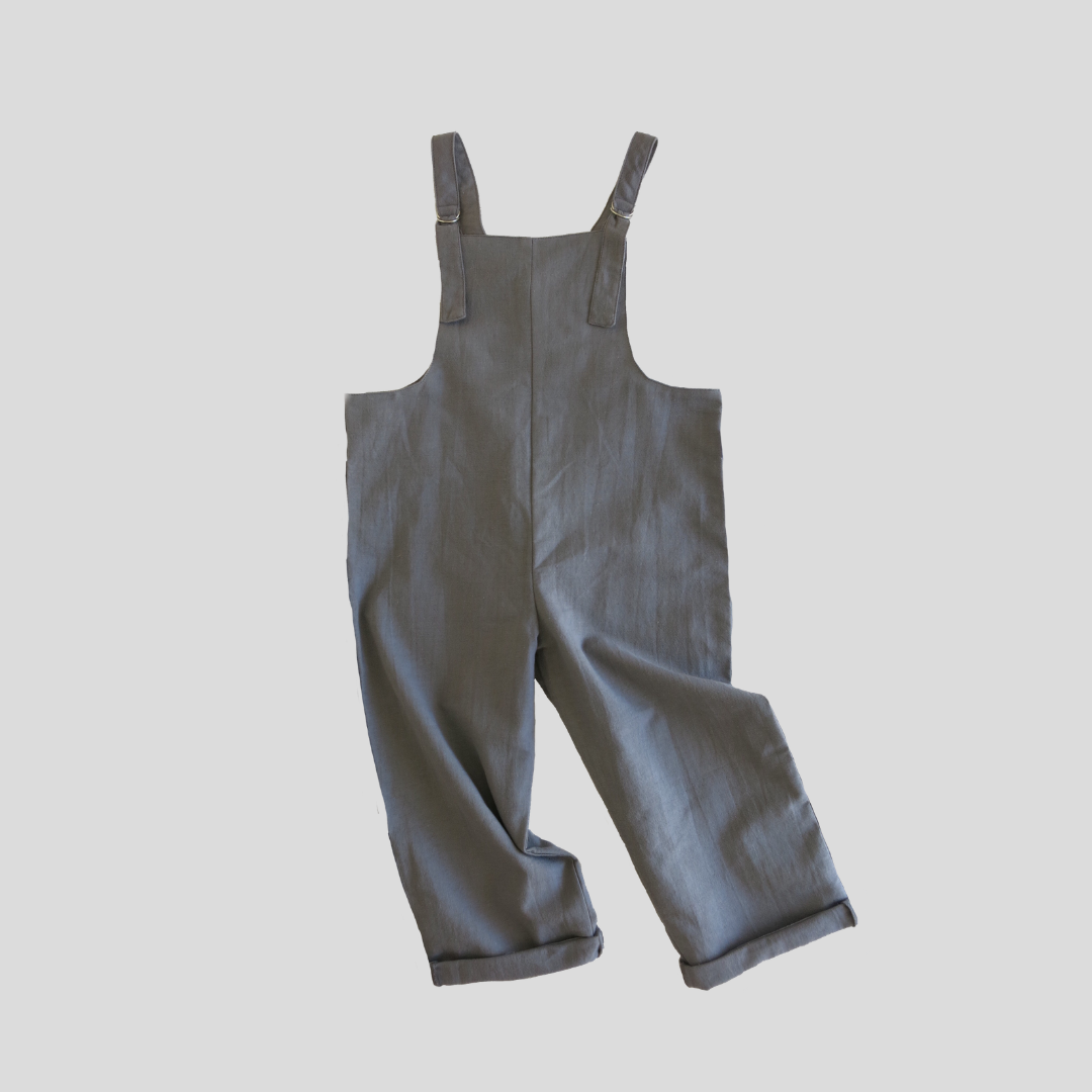 Voyager Overalls - Charcoal
