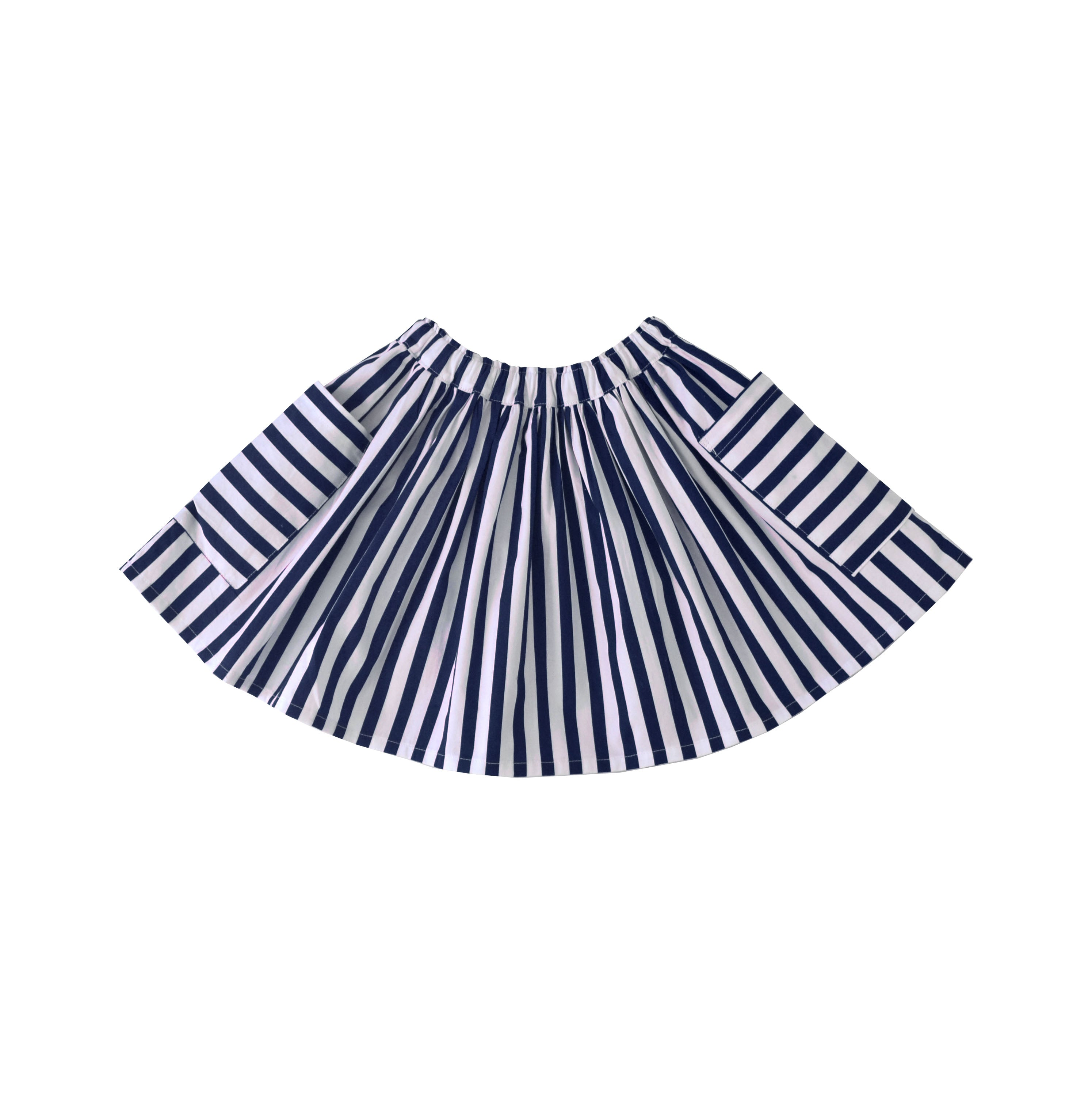 Saltwater Skirt - Nautical Blue Stripe