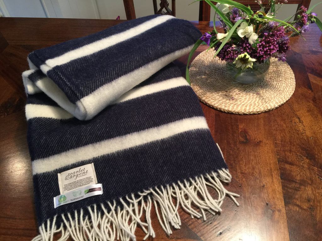 BACK IN STOCK- DON'T DELAY. The Beautiful Heritage 100% NZ Wool Throws.