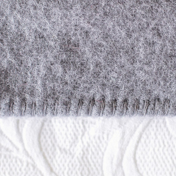 Grey Harlequin NZ Wool Blanket