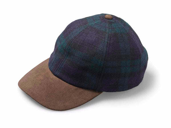 Yorkshire Tweed, Black Watch Cap.