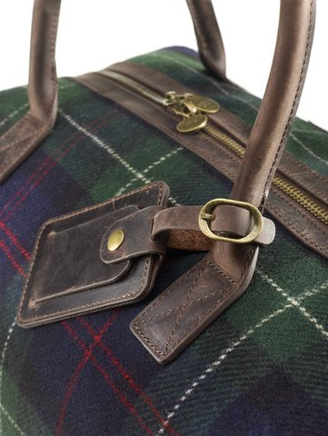 Yorkshire Tweed, Robertson Tartan, Holdall Bag.