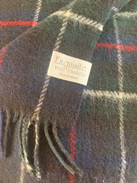 Mackenzie Tartan Knee Rug throw.