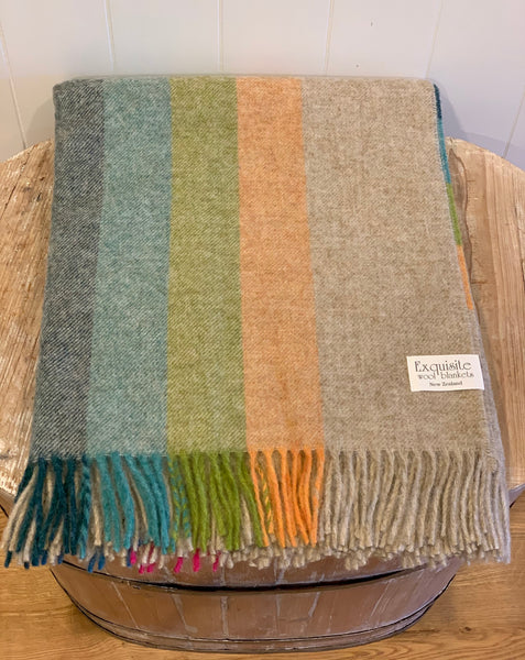 Tutti Frutti Wool Throw.