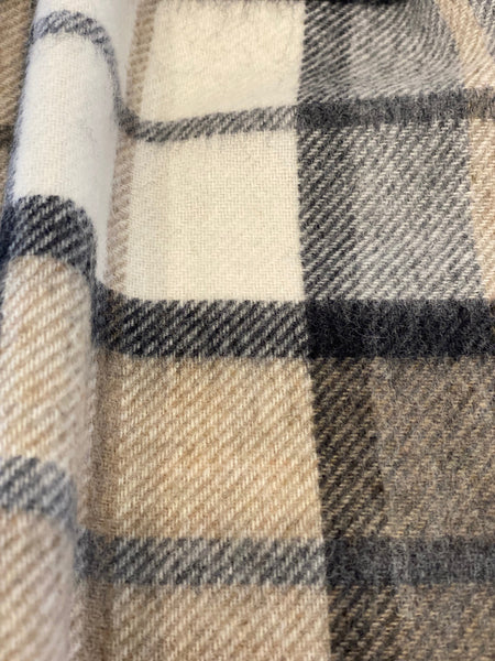 Winchester Natural 100% Merino Wool Scarf.