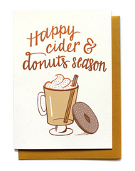 Cider & Donuts Season Card