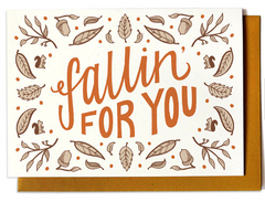 Fallin For You Card
