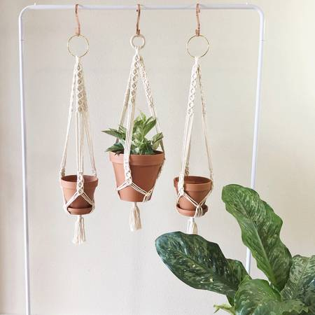 Amanda Michelle - Macramé Plant Holder