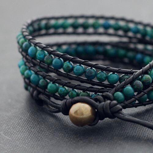 The Willie Wags Workshop: 3-Wrap Bracelet Making with Brooke Trout Designs, October 18th
