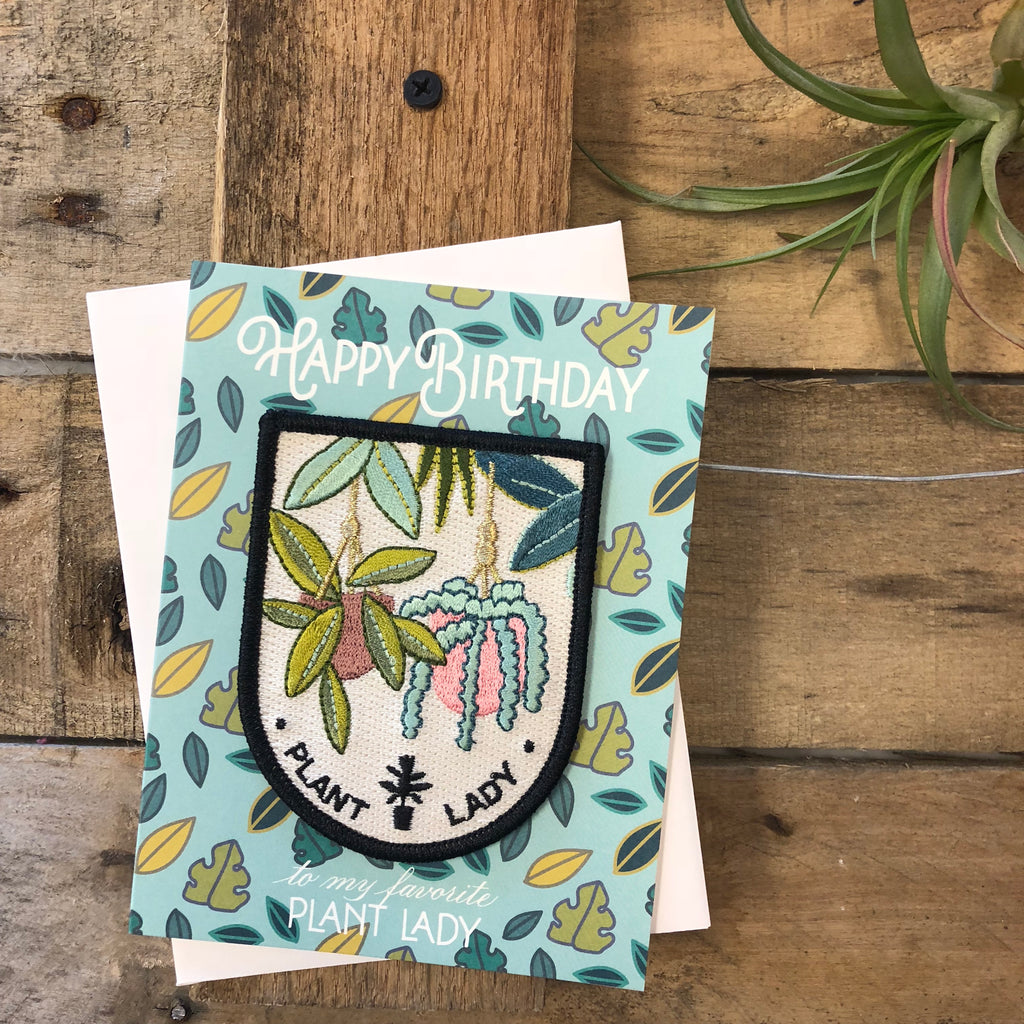 Antiquaria -  Greeting Cards with Iron-on Patch