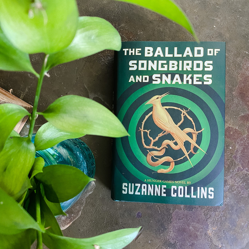 Virtual YA Book Club: The Ballad of Song Birds & Snakes by Suzanne Collins, June 22nd