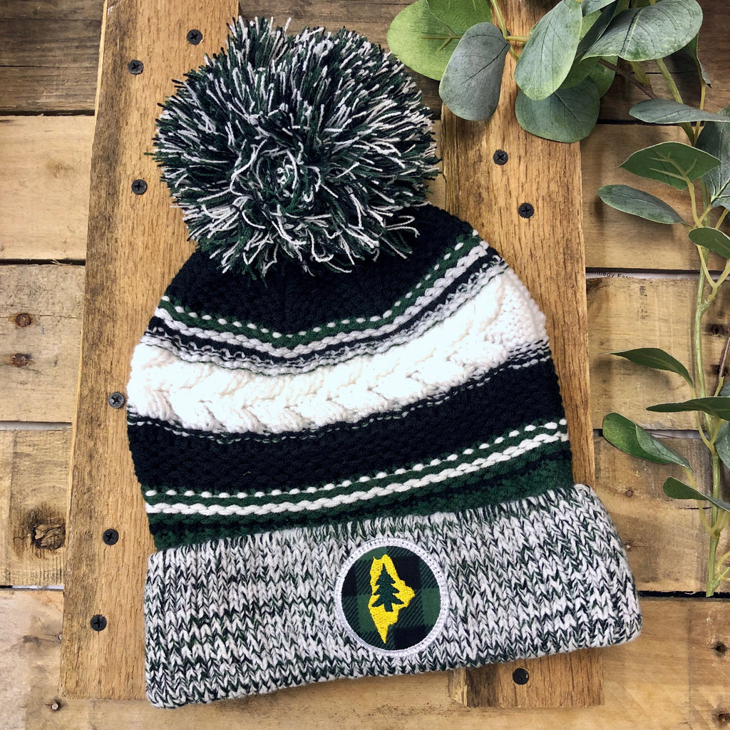 Gracie Designs - Maine Tree Pom Beanie