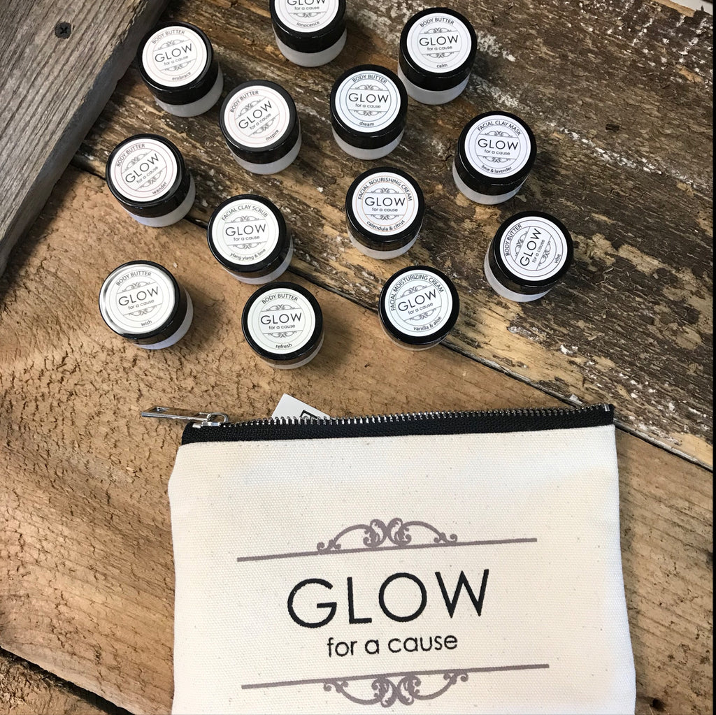 GLOW for a cause - Try It All Bag