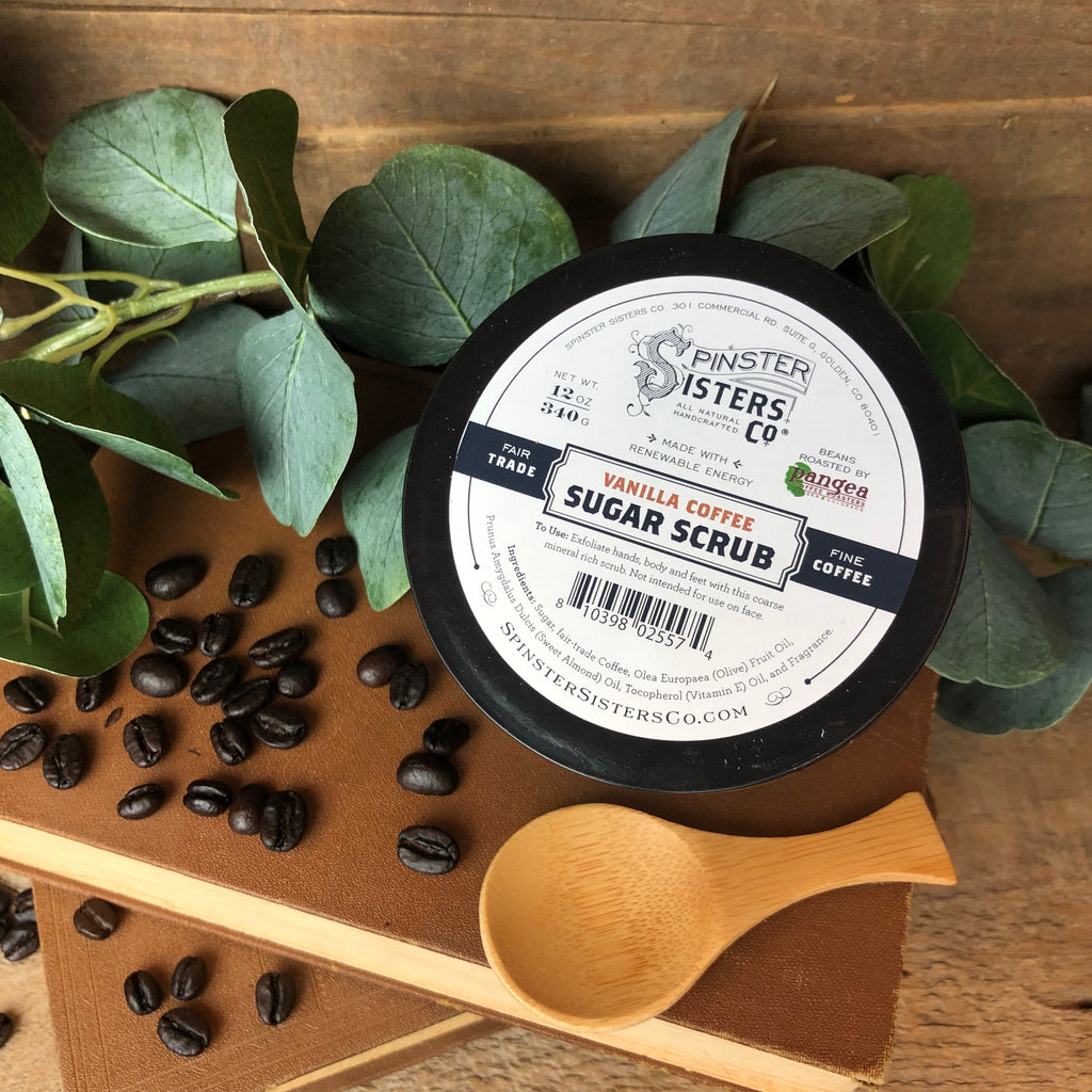 Spinster Sisters Co. - Vanilla Coffee Scrub