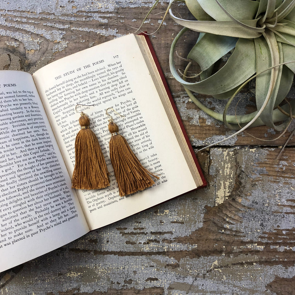 Amanda Michelle - Tassel Earrings