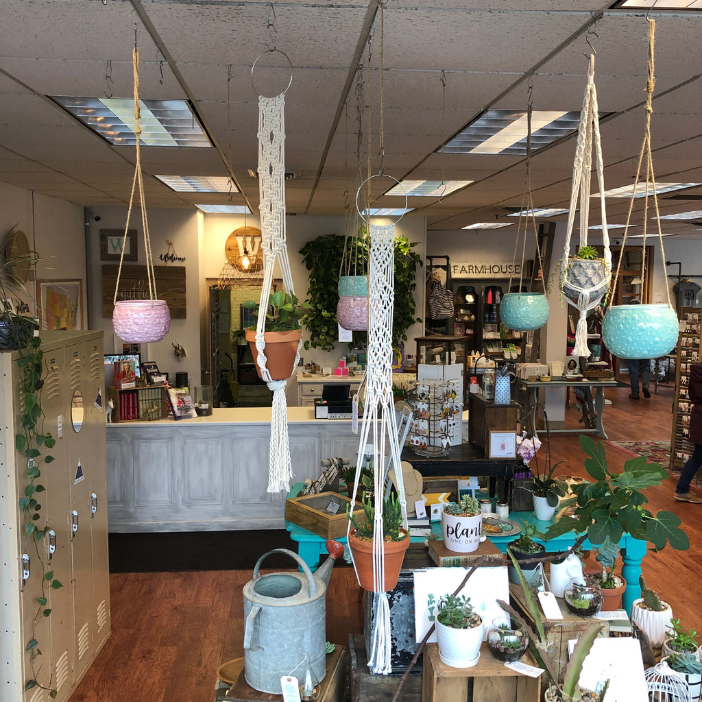 TWW Workshop: Sept. 6th - Let's Get Knotty Macrame Plant Hanger Workshop