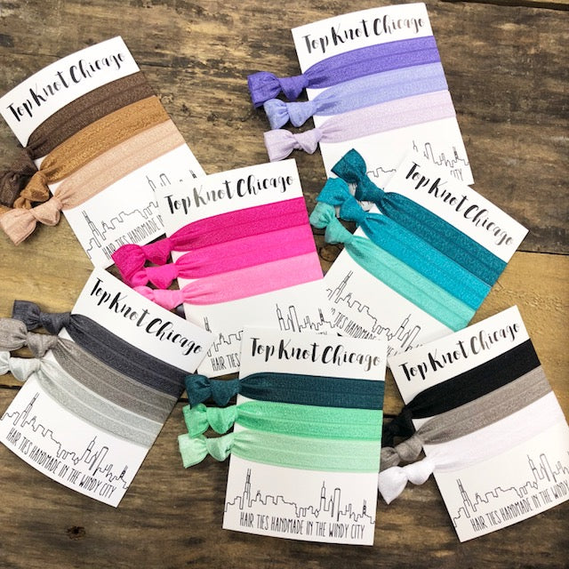 Top Knot Chicago - Hair Elastics